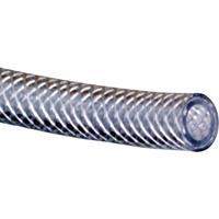 Hozelock PVC Schlauch mit Gewebe Ø6 x 12 mm 163286 Weefselslang Transparant 6 mm