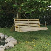 vidaXL Schommelbank 155x65x60 cm geïmpregneerd grenenhout