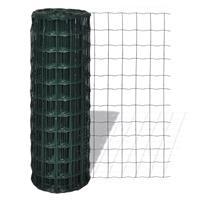 Vidaxl Euro Hek 10x1,5 M Staal Groen