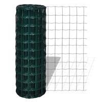 Vidaxl Euro Hek 10x0,8 M Staal Groen
