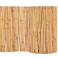 Vidaxl Tuinhek 500x30 Cm Bamboe