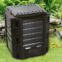 Generic Snelle compostbak -  380L-Compostvat - Composter  - kunststof