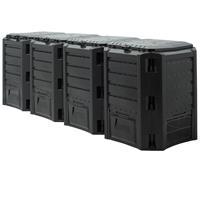 Generic Snelle compostbak 1600L - Quatro - 261 x 72 x 83cm
