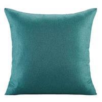 Leen Bakker Sierkussen Triton - blauwgroen - 45x45 cm