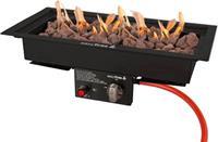 EasyFires Easy Fires: Inbouwbrander 50 x 25 - Zwart