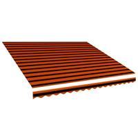 vidaXL Luifeldoek 450x300 cm canvas oranje en bruin - vidaXL