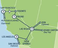Western Highlights (12 dagen) - Amerika - Zuidwesten - San Francisco