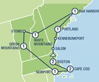 Colors of New England (11 dagen) - Amerika - Noordoosten - Boston