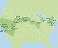 The Great American Crossing (23 dagen) - Amerika - Noordoosten - New York