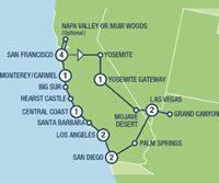 West Coast Insider Small Group (15 dagen) - Amerika - Zuidwesten - San Francisco