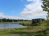 Secret Lagoon entree in Fludir
