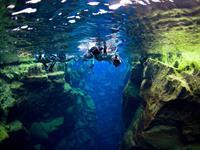 Silfra kloof Thingvellir, snorkelen tussen twee continenten