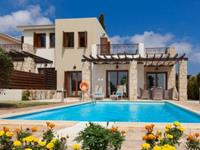 Junior Villa Private Pool - Cyprus - Paphos District - Paphos- 4 persoons