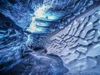 Ice Cave Under The Volcano tour