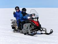 Glacier Snowmobiling vanaf de Gullfoss