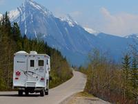 Camperhuur Fraserway Calgary naar Vancouver (one way), incl.vlucht met KLM