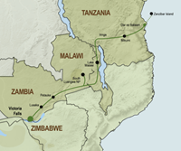 Kampeeravontuur van Victoria Falls tot Zanzibar (18 dagen) - Zimbabwe - Victoria Falls