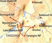 Beste van Tanzania (9 dagen) - cat. Economy - Tanzania - Arusha