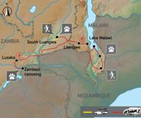 De Wildernis van Zambia & Malawi (18 dagen) - Zambia - Lusaka