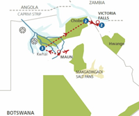 Betaalbaar Botswana (10 dagen) - Zimbabwe - Victoria Falls
