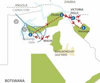Botswana en Zimbabwe in 't wild (11 dagen) - Botswana - Maun