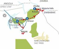 Botswana in vogelvlucht (11 dagen) - Botswana - Maun