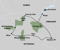 Expeditie Botswana en Zimbabwe (17 dagen) - Zimbabwe - Victoria Falls
