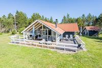8 persoons vakantie huis op een vakantie park in Nørre Nebel