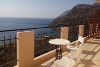 Seaview Studio, 3 p. panoramisch zeezicht, in prachtige omgeving, westvan Chania
