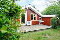 Knus vakantiehuis in Jutland met twee terrassen