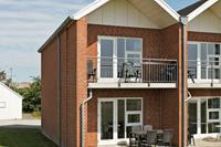 Fraai appartement in Jutland met balkon en terras