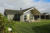 Houten vakantiehuis in Harboøre met sauna en jacuzzi