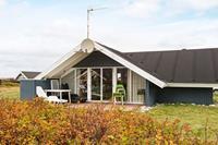 Modern vakantiehuis in Harboøre met uitzicht op het meer