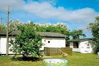 Gezellig vakantiehuis in Erslev met schommels en zandbak