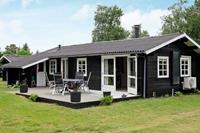 Goed onderhouden vakantiehuis in Jerup met houtkachel
