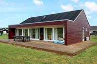Gezellig vakantiehuis in Jutland nabij de zee