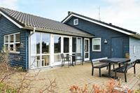 Gezellig vakantiehuis in Sæby met een barbecue op het terras