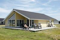 Moderne vakantiewoning in Brovst met overdekt terras