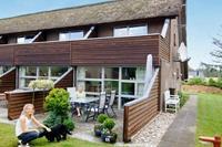 Knus vakantiehuis in Henne met balkon en terras