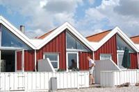 Knus vakantiehuis in Nibe direcht aan de jachthaven