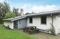Prettig vakantiehuis in Vestervig met een barbecue