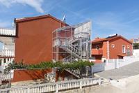 Fijne studio in Okrug Gornji met een terras