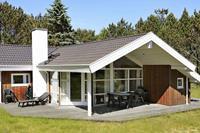 Ruim vakantiehuis in Ålbæk met sauna