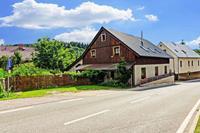 Knus vakantiehuis in de Bohemen in een skigebied