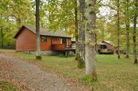 Knus, houten chalet met veranda, op slechts 15 km van Durbuy