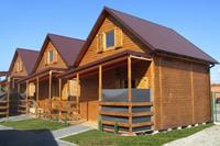 Bungalow met een zonnig terras, ideaal voor 6 personen. Woonkamer, 2 slaapkamers