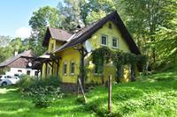 Charmant vakantiehuis in Rudník met een privétuin