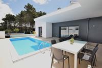 Moderne villa met privé-zwembad, vlakbij het prachtige strand van Foz de Arelho
