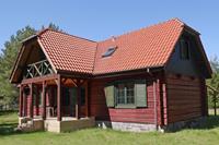 Rustig vakantiehuis in Pomeranian Polen dicht bij de kust
