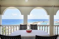Vakantieappartement met uitzicht op Sea Aquarium en de zee op Curacao